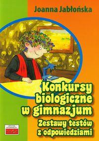 Konkursy biologiczne w gimnazjum