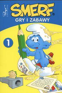 Smerfy Gry i zabawy  t. 1 kolorowanka