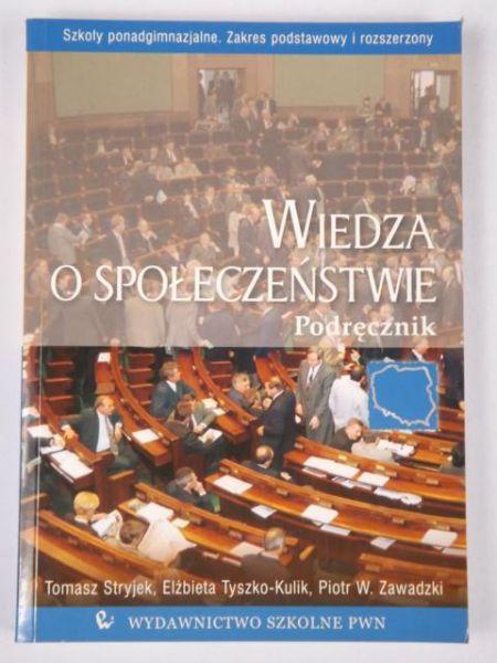 Adamczyk Anna (red.) - Wiedza o Społeczeństwie. Podręcznik