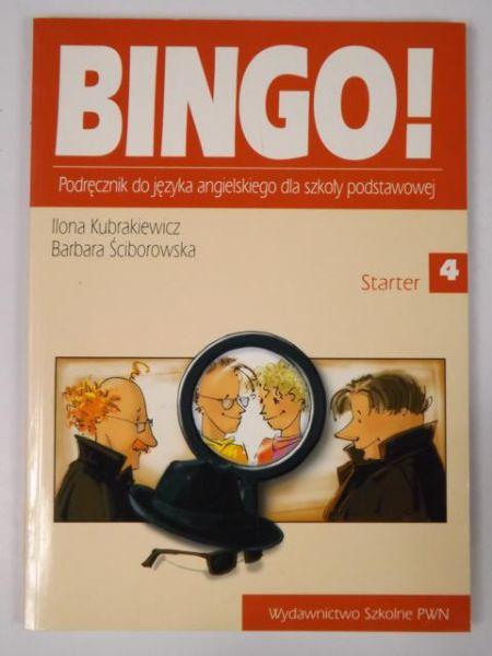 Kubrakiewicz Ilona, Ściborowska Barbara - Bingo! Podręcznik do języka angielskiego dla szkoły podstawowej