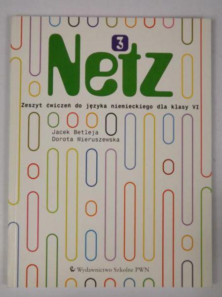 Netz 3. Zeszyt ćwiczeń do języka niemieckiego dla klasy VI