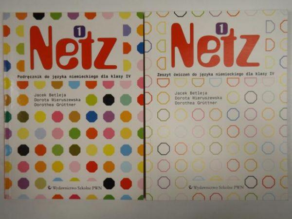 J.,  D. - Netz 1: Zeszyt ćwiczeń / podręcznik do języka niemieckiego dla klasy IV