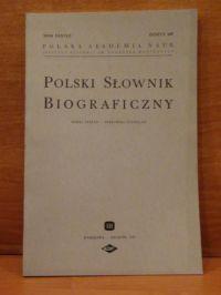 Seidel Stefan - Polski Słownik Biograficzny, zeszyt 149