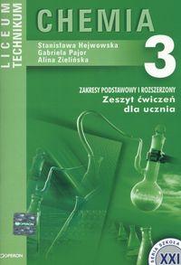 Chemia 3 Zeszyt ćwiczeń