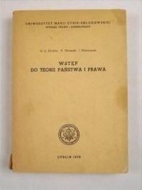Seidler G. L. - Wstęp do teorii państwa i prawa