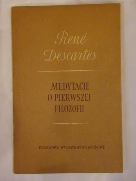 Medytacje o pierwszej filozofii