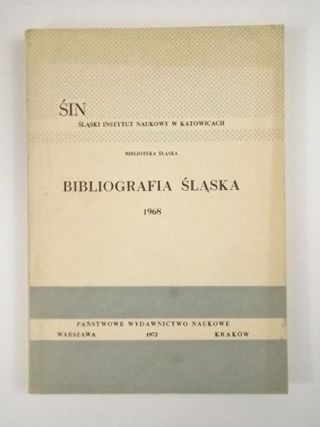 Bibliografia Śląska 1968