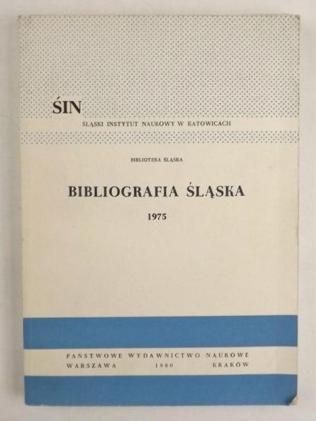 Bibliografia Śląska 1975