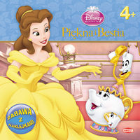 Disney Piękna i Bestia Zabawa z naklejkami