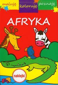 Afryka Maluję koloruję poznaję