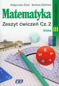 Matematyka 3, zeszyt ćwiczeń, część 2, Pazdro