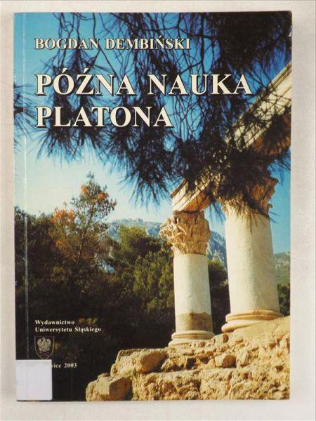 Późna nauka Platona