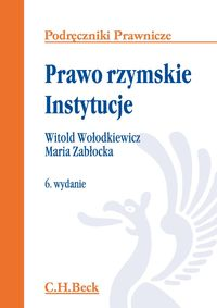 Zabłocka Maria, Wołodkiewicz Witold - Prawo rzymskie. Instytucje