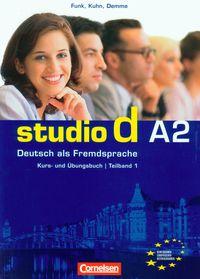 Studio d A2 Teilband 1. Kurs und Ubungsbuch. Podręcznik z ćwiczeniami + CD