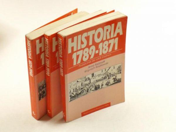 Radziwiłł Anna,Roszkowski Wojciech,Eisler Jerzy,   - Historia 1789-1871/Historia 1871-1945/Historia 1789-1990