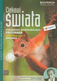 Ciekawi Świata Przyroda Biologia Podręcznik Część 3