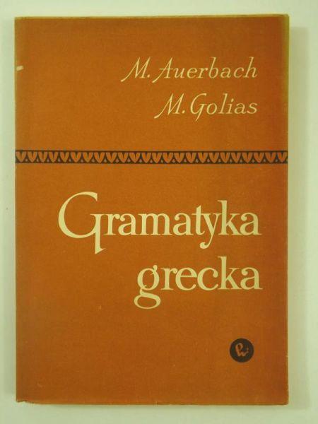 Auerbach M. - Gramatyka grecka