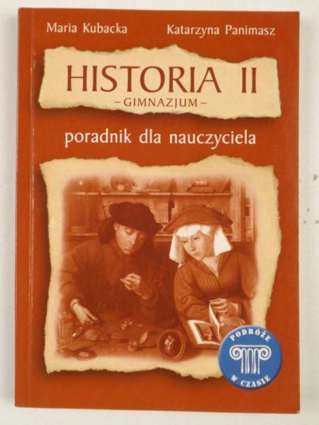 Kubacka M.,   - Historia II. Gimnazjum
