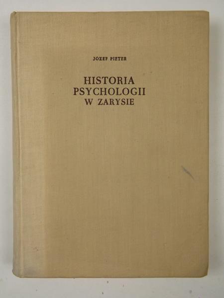 Historia psychologii w zarysie