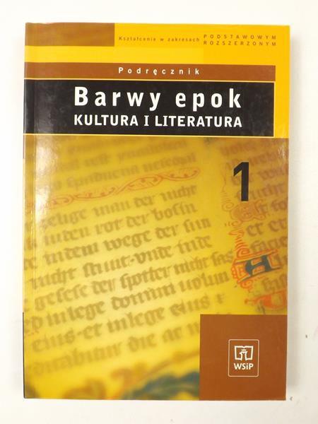 Bobiński Witold, Janus-Sitarz Anna,   - Barwy epok. Kultura i literatura. Podręcznik