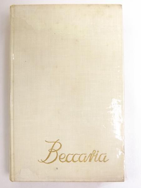 Znalezione obrazy dla zapytania Cesare Beccaria O przestępstwach i karach 1959