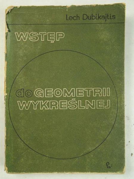 Wstęp do geometrii wykreślnej