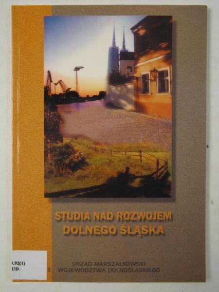 Studia nad rozwojem Dolnego Śląska