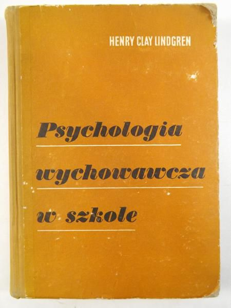 Psychologia wychowania w szkole