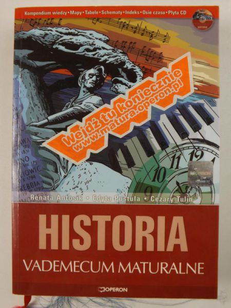 Antosik Renata,   - Historia. Vademecum maturalne + CD