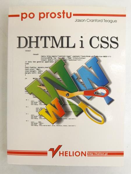 Po prostu DHTML i CSS