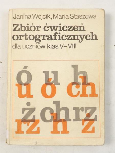 Zbiór ćwiczeń ortograficznych