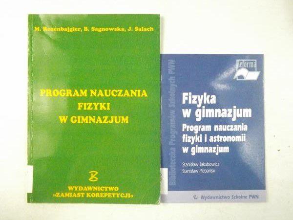 Jakubowicz S.,   - Fizyka w gimnazjum / Program nauczania fizyki w gimnazjum