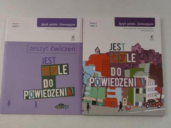 Jest tyle do powiedzenia. Język polski. Gimnazjum, klasa 1, część II. Podręcznik / Zeszyt ćwiczeń