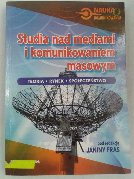 Studia nad mediami i komunikowaniem masowym