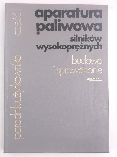 Falkowsk   n. - Aparatura palwowa slnków wysokoprężnych. Budowa  sprawdzane
