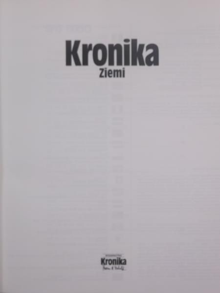 Michalik Marian B. (oprac.) - Kronika ziemi