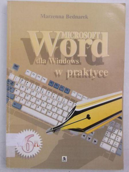 Microsoft Word dla Windows w praktyce
