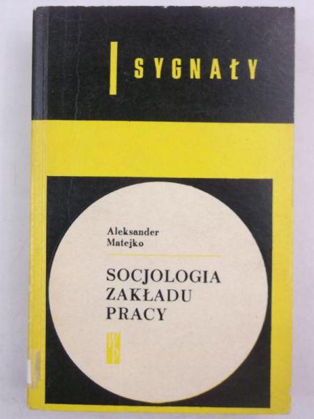 Socjologia zakładu pracy