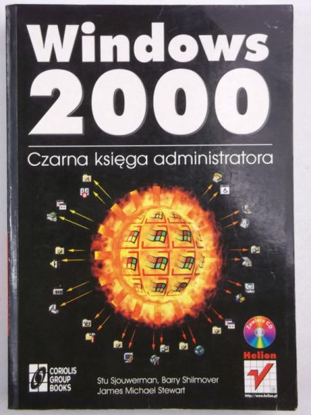 Ajouwerman Stu - Windows 2000. Czarna księga administratora + CD