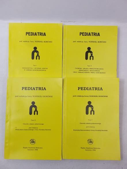 Pediatra, zestaw 4 książek