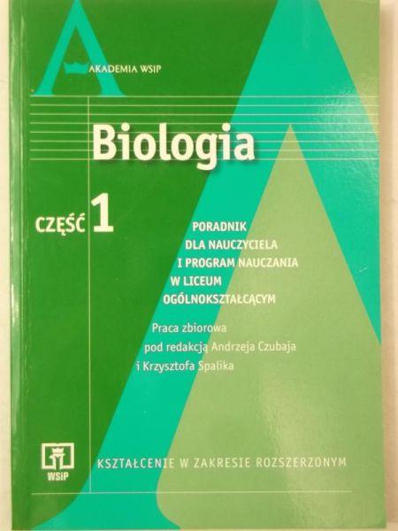 Biologia, część I