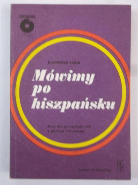 Znalezione obrazy dla zapytania Kazimierz Sabik Mówimy po hiszpańsku