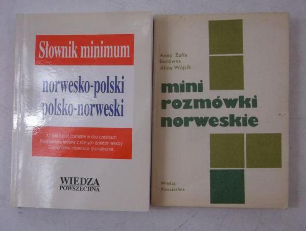 Mini rozmówki norweskie / Słownik minimum norwesko- polski, polsko- norweski