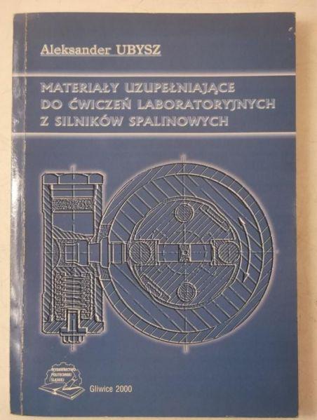 Materiały do ćwiczeń laboratoryjnych z silników spalinowych