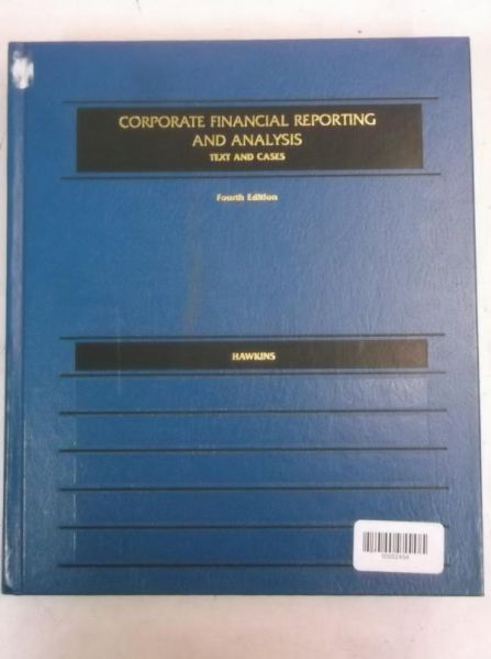 Corporat Financial Reporting and Analysis