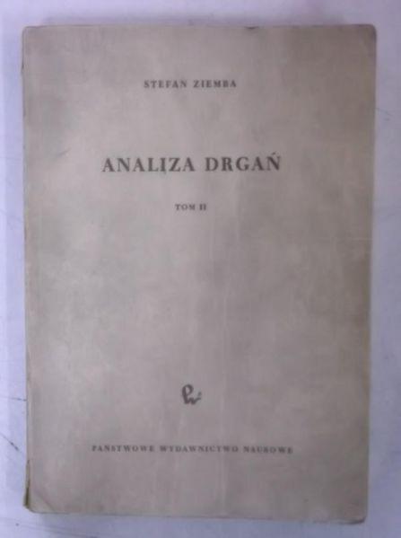 Analiza drgań, tom II