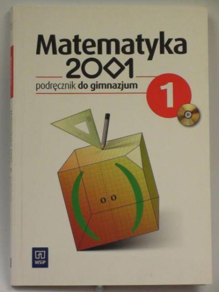 Matematyka 2001, podręcznik do gimnazjum 1