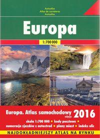 Europa atlas 1:700 000 Freytag & Berndt