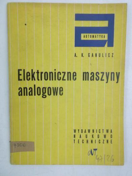 Elektroniczne maszyny analogowe