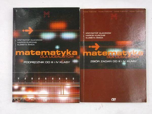 Matematyka dla licealistów, 2 książki
